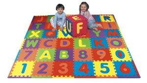 Toddler Toys We Love: Alphabet Puzzle Mat