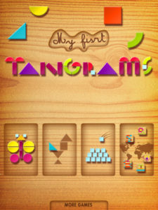 Toddler iPad Apps We Love: My First Tangrams HD