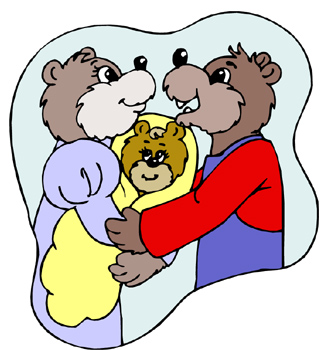 Online Reading of the Children's Book Goldilocks and the Three Bears