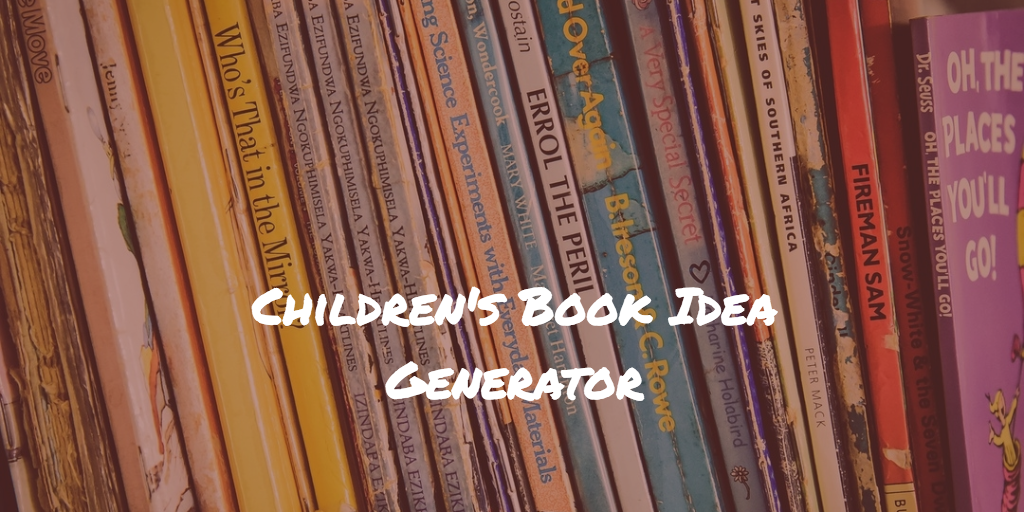 Picture Book Idea Generator